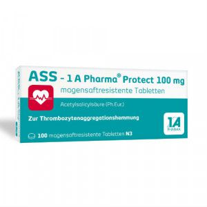 ASS-1A Pharma Protect 100 mg magensaftr.Tabletten